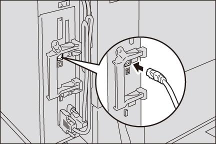 イーサネットコネクター(標準装備)の場合