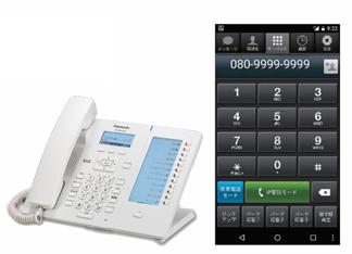 外出先にいても、オフィスに掛かってきた電話が受けられる?