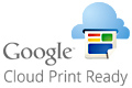 Google Cloud Print(TM) Ready