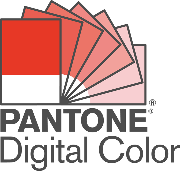 PANTONE® Digital Color ロゴ