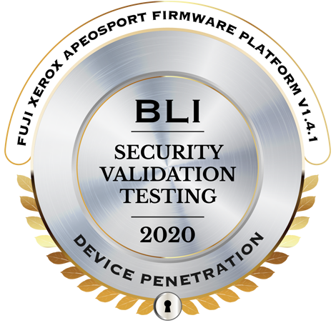 BLI SECURITY VALIDATION TESTING 2020ロゴ